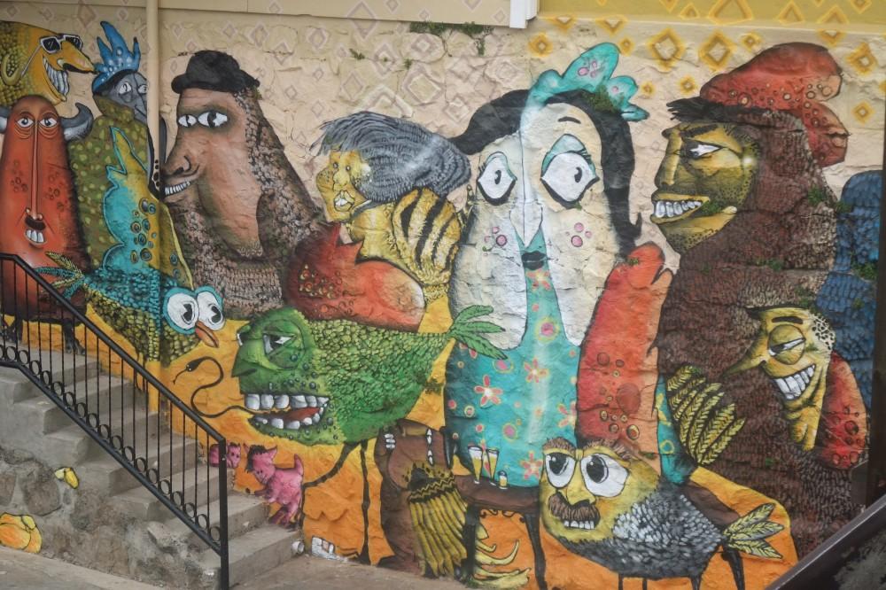 Graffiti i Valparaiso